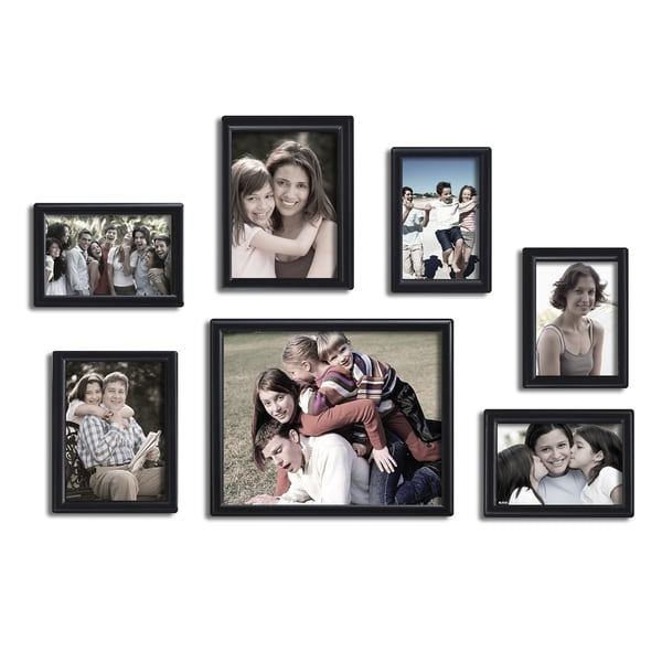 Adeco 7 Pieces Picture Frame Set