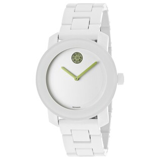 Movado Bold 3600159 White Steel and Resin Bracelet Watch