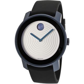 Movado Bold 3600168 White Dial Blue-Grey Watch