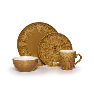 Pfaltzgraff 'Dolce' Honey 16-piece Dinnerware Set