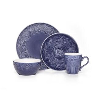 Pfaltzgraff 'Dolce' Colbalt 16-piece Dinnerware Set