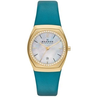 Skagen Women's SKW2114 Classic Charlotte Leather Watch