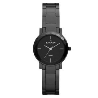 Skagen Women's SKW2097 Black Dial Black Ceramic Watch