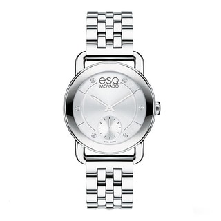 ESQ by Movado Women's 7101410 Classica Stainless Steel Diamond Accent Watch