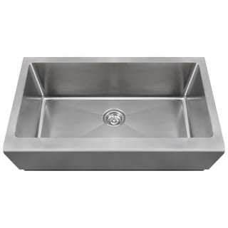 Polaris Sinks P504 Stainless Steel Single Bowl Apron Kitchen Sink