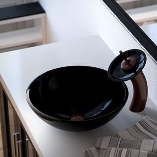 Polaris Sinks Black/ Oil-rubbed Bronze 4-piece Bathroom Ensemble