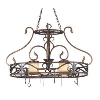 Veanna 2 Light Pot Rack