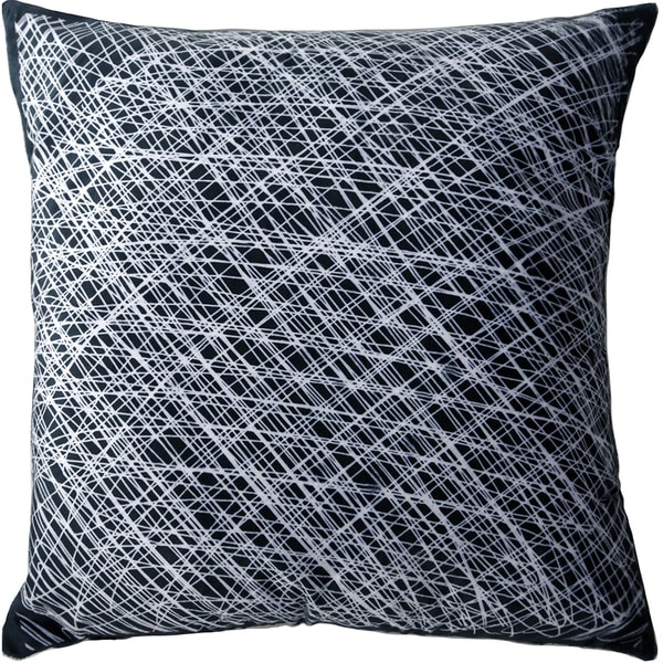 Maxwell Dickson Web We Weave 18-inch Velour Throw Pillow