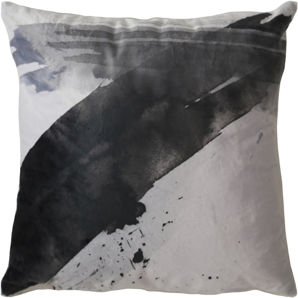 Maxwell Dickson Washing Wind 18-inch Velour Throw Pillow