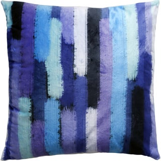 Maxwell Dickson Waterfall Showers 18-inch Velour Throw Pillow