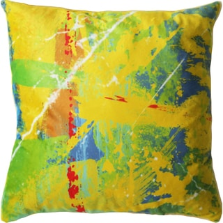 Maxwell Dickson Sun Beams 18-inch Velour Throw Pillow
