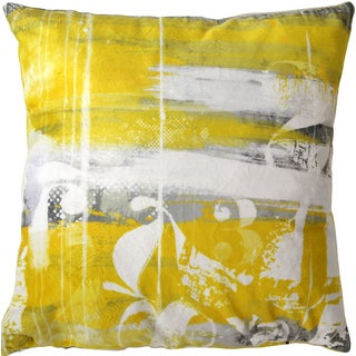 Maxwell Dickson Number Stacks 18-inch Velour Throw Pillow