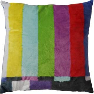 Maxwell Dickson No Signal 18-inch Velour Throw Pillow