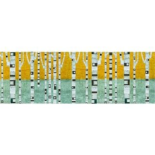 Michelle Calkins 'Birches in Early Winter' Gallery Wrapped Canvas Art