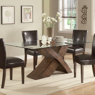 Nessa Deep Brown Rectangular Dining Table