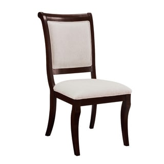 Harris Beige Upholstered Side Chairs (Set of 2)