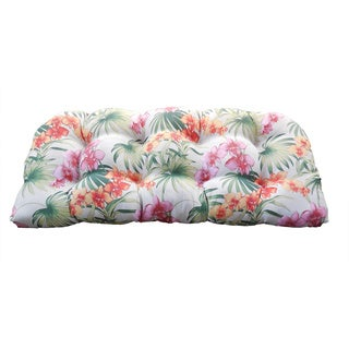 Tommy Bahama African Orchid Indoor/ Outdoor Bench Pad