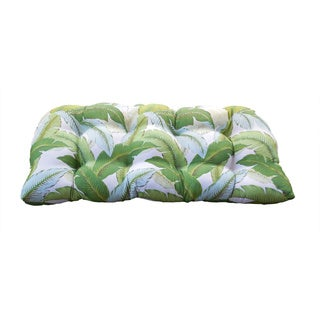 Tommy Bahama Banana Leaves Indoor/ Outdoor Bench Pad