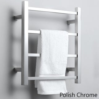 Virtu USA Koze VTW- 120A Towel Warmer in Polish Chrome