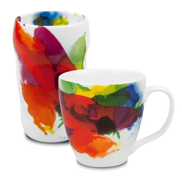 Konitz 'On Color' Grip Mug and Mug Set