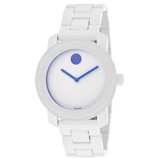 Movado Bold Women's 3600169 White Steel and Resin Bracelet Watch