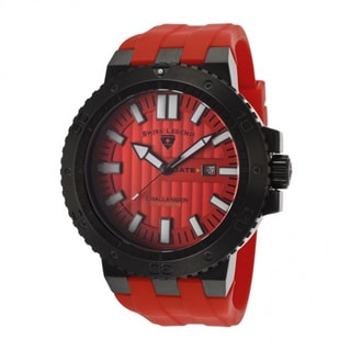 Swiss Legend Men's 'Challenger' Red Watch