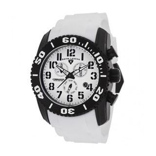 Swiss Legend Men's Titanium White Watch