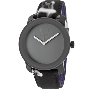 Movado Bold 3600169 Smoke Canvas Watch