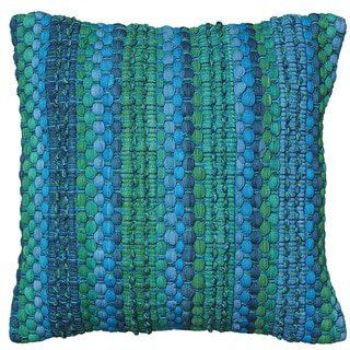 LNR Home Contemporary Blue 18 inch Accent Pillow