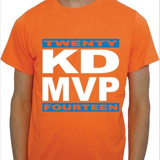 Kevin Durant 2014 NBA MVP T-shirt