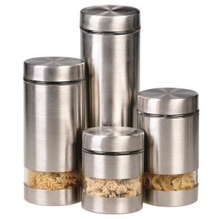 Rotunda 4-piece Canister Set
