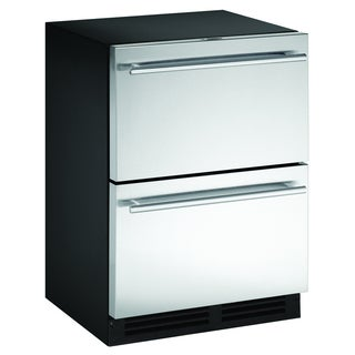 U-line Stainless Steel Two-drawer Refrigerator