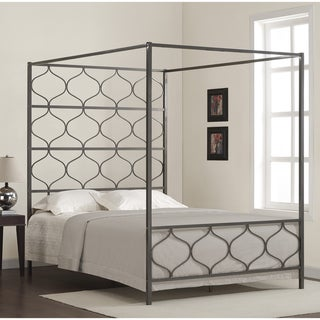 Fresh  Discount Marnie Queen Canopy Bed Reviews