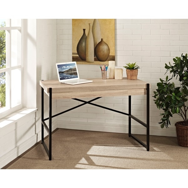 denver 48 inch desk and dropfront laptop drawer 16276920 overstock