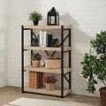 Denver Salvaged Oak Finish 44-inch Four Shelf Bookcase