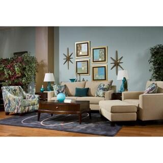 Kent Light Brown 4-piece Sofa Set