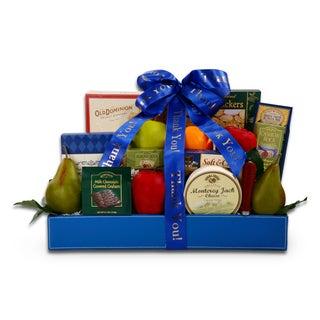 Alder Creek Thank You Fresh Fruit Gourmet Gift Basket