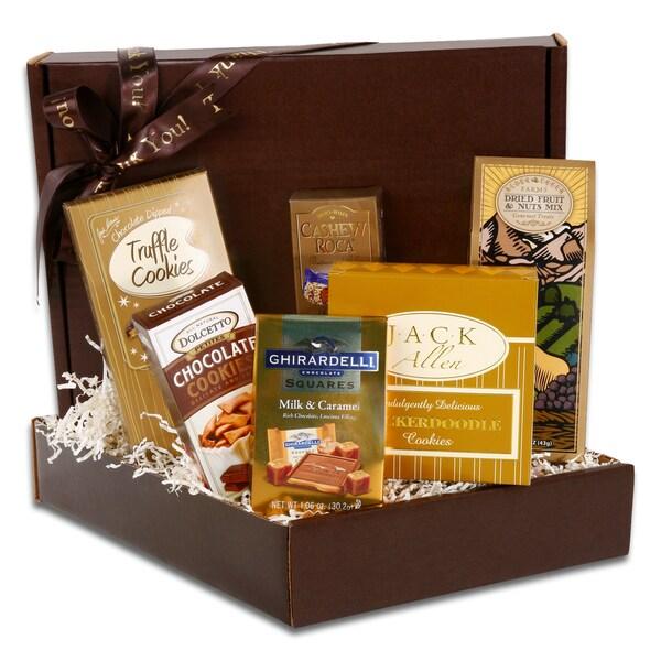 Alder Creek Gift Baskets Thank You Gourmet Gift Box