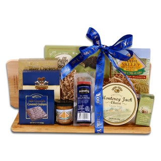Alder Creek Gift Baskets Thank You Gourmet Cutting Board