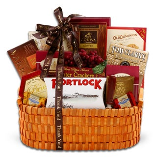 Alder Creek Gift Baskets Thank You Gourmet Wishes
