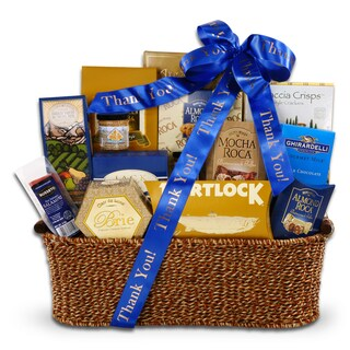 Alder Creek Gift Baskets Thank You Sophisticated Gourmet