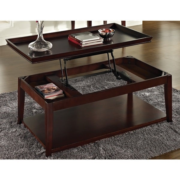 Carmine Lift-top Coffee Table and Casters