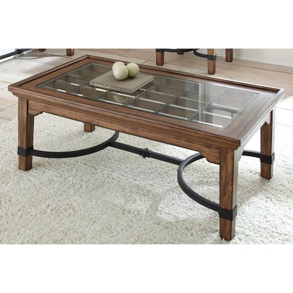 Layton Medium Oak Rectangular Coffee Table