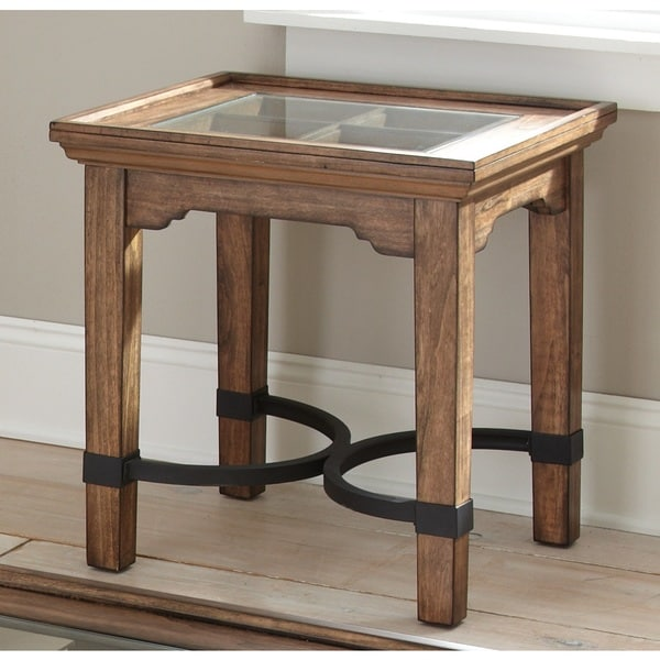 Layton Medium Oak End Table