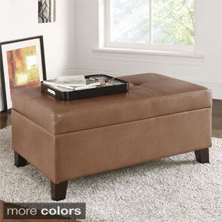 Dorel Living Rectangular Storage Ottoman