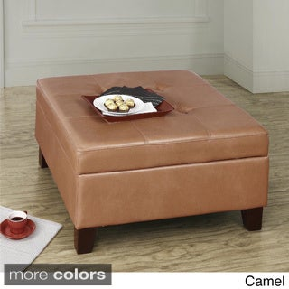 Dorel Living Square Storage Ottoman