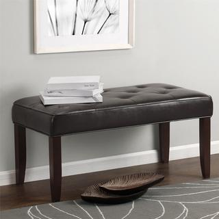 Dorel Living Tufted Bench