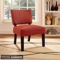 Open Back Accent Chair