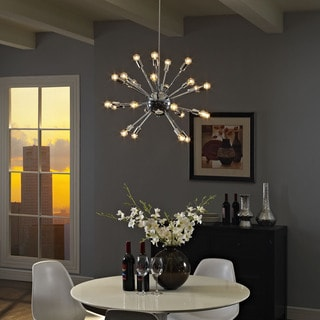 Spectrum Chandelier in Silver