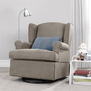 Swivel Glider, Dark Taupe